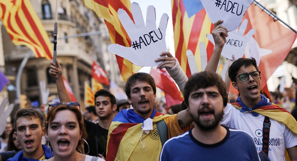 Spain dissolves catalonia 39 s parliament after independence - Ka international madrid ...